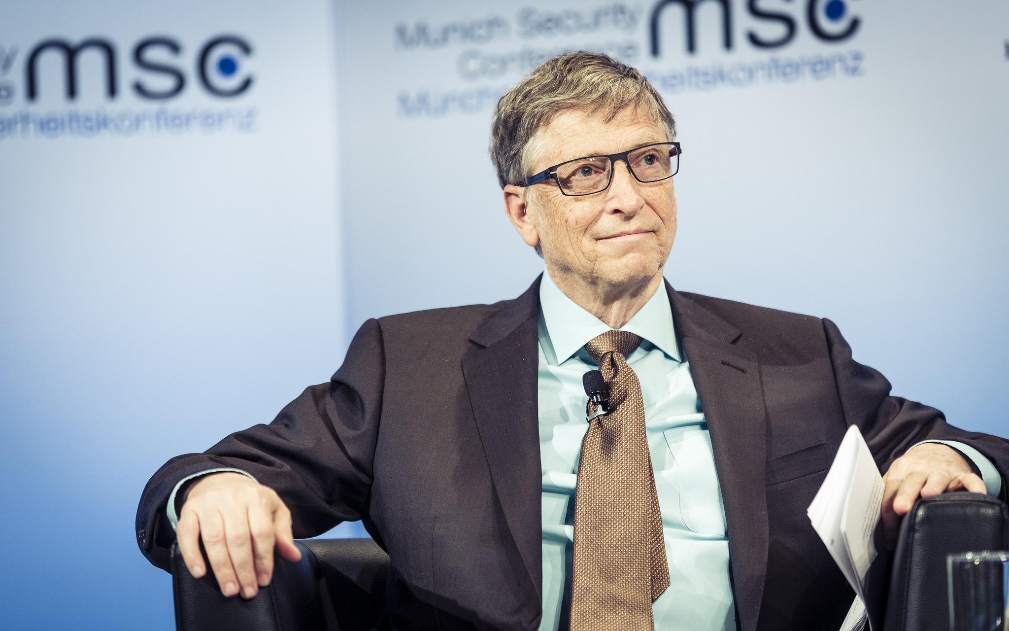 Der plötzliche Fall von Bill Gates