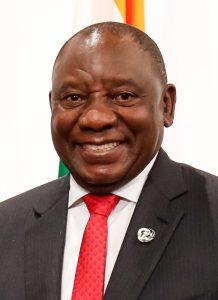 Präsident Cyril Ramaphosa - Wikipedia